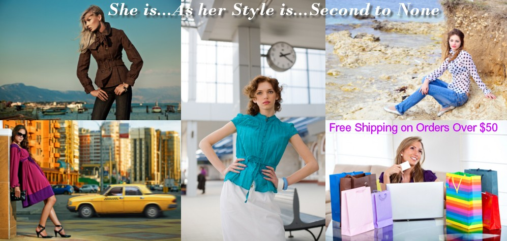 Fashion Clothing, Tops, Ladies Blouses, Skirts, Dresses, Blazers, Juniors Jackets, Women's Plus Size